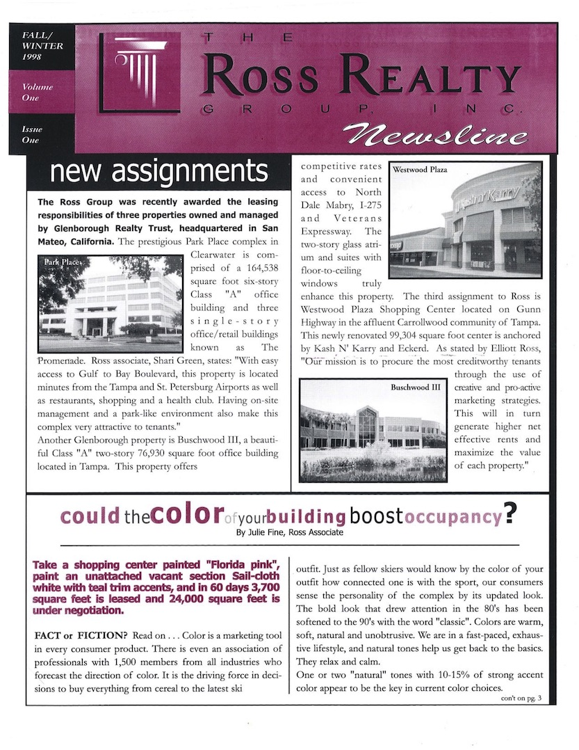 1998 Q3 RRG Newsletter
