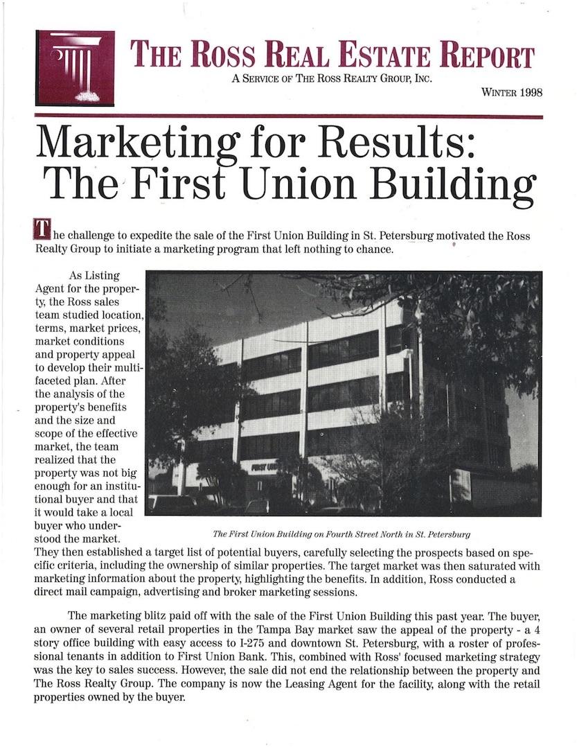 Newsletter – Winter 1998