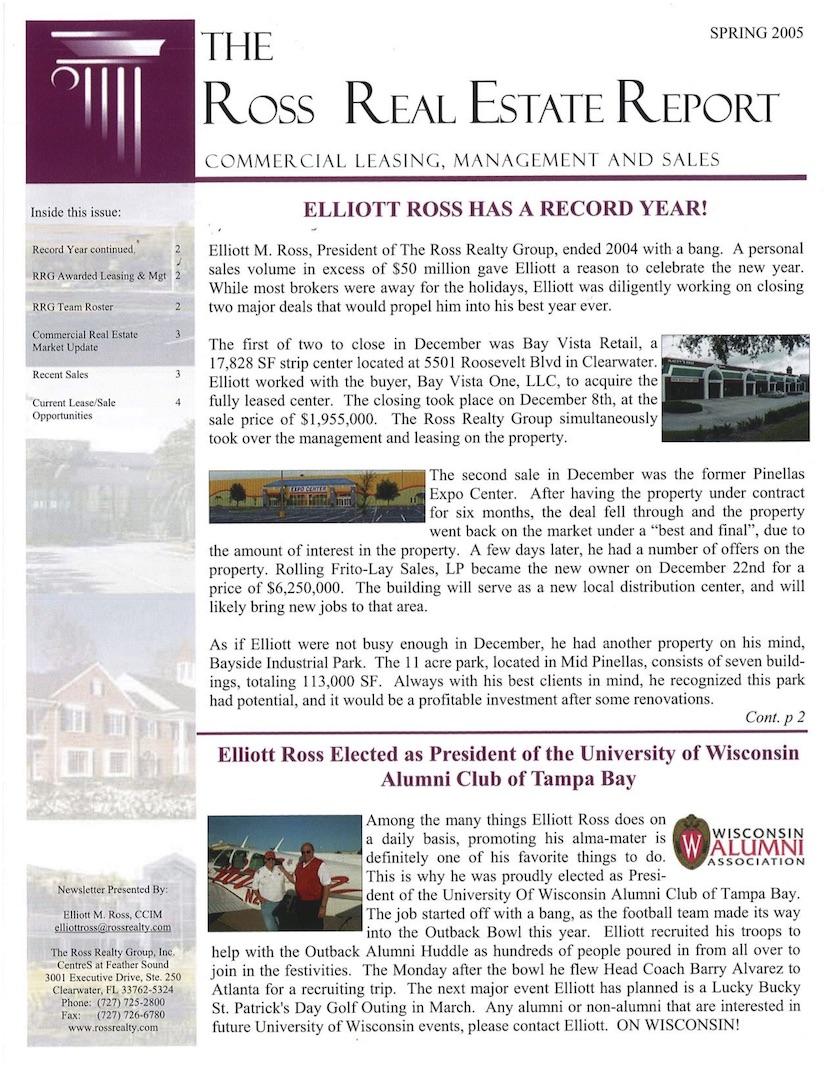 2005 Q1 RRG Newsletter