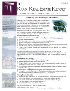 Newsletter – Fall 2005