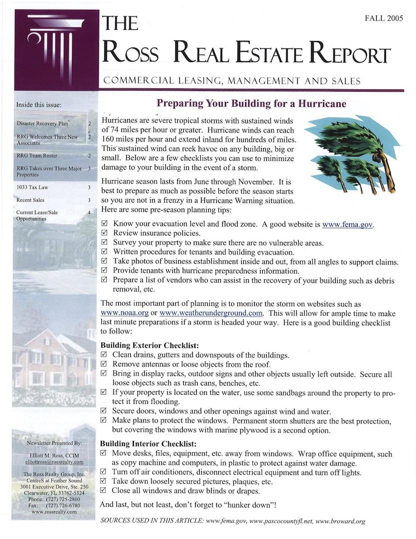 2005 Q3 RRG Newsletter