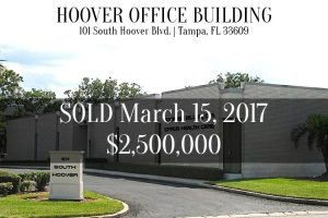 SOLD – 20170315 – 101 South Hoover Blvd Tampa Fl 33609