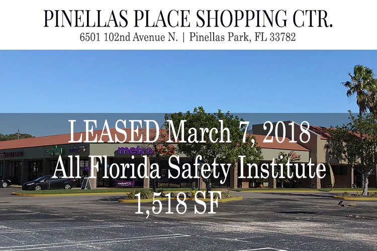 LEASED – 20180307 – 12001 66th Street N Pinellas Park Fl 33773
