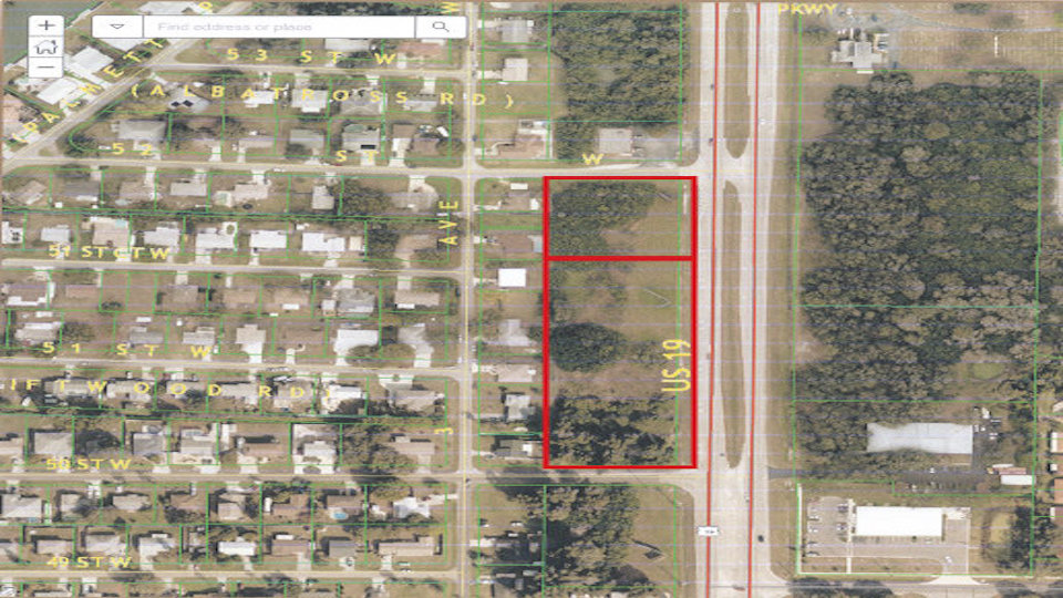 FOR SALE – Vacant Land – 5007-5105 US 19 PALMETTO 5007-5105 US 19, Palmetto, FL 34221