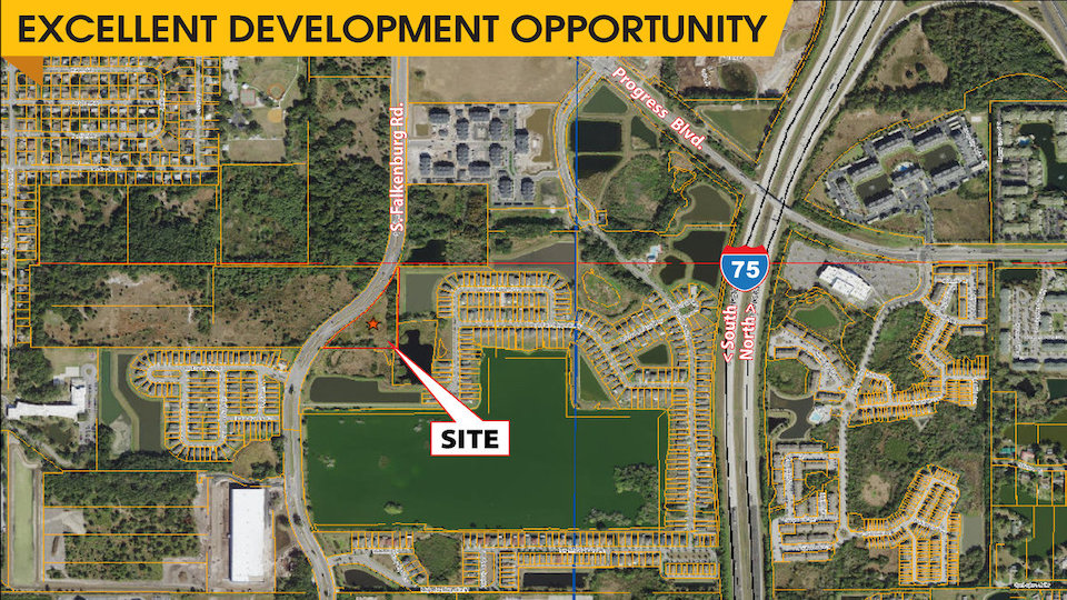FOR SALE – Vacant Land – S Falkenburg Parcel 6002 S. Falkenburg Rd, Riverview, FL 33578