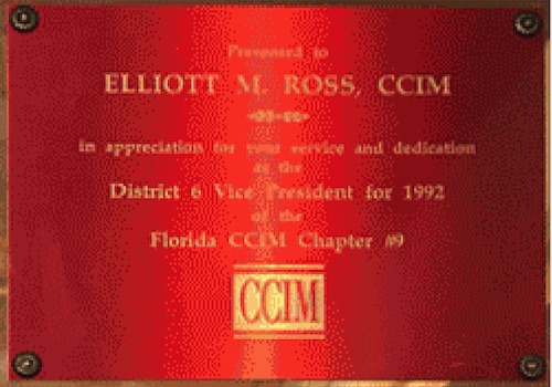 image of image ross awards ccim 1992