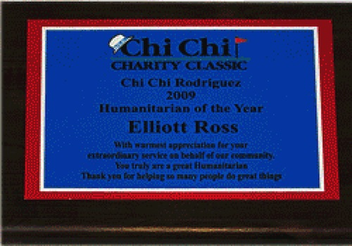 image ross awards chi chi charity classic