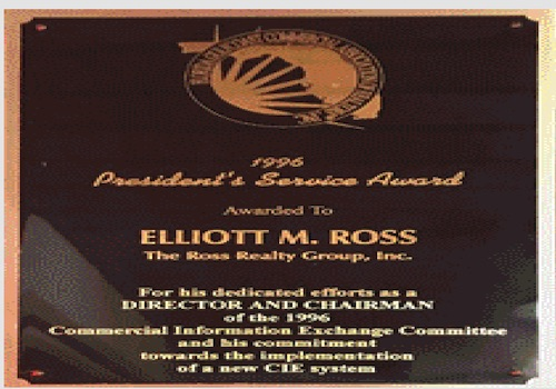 image ross awards presidents service award