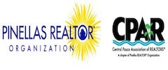 two logos - pinellas realtor organization and cpar central pasco association of realtors