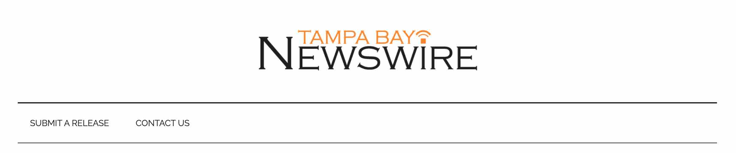 Tampa Bay Newswire Banner Title