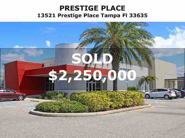 Tampa Commercial Real Estate - 20170526-Sold-13521-Prestige-Place-Tampa-Fl-33635
