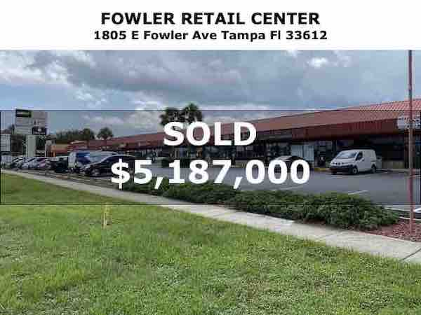 Tampa Commercial Real Estate - 20171130-Sold-1805-E-Fowler-Ave-Tampa-Fl-33612