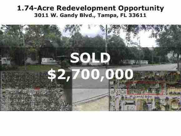 Tampa Commercial Real Estate - 3011 W. Gandy Blvd., Tampa, FL 33611