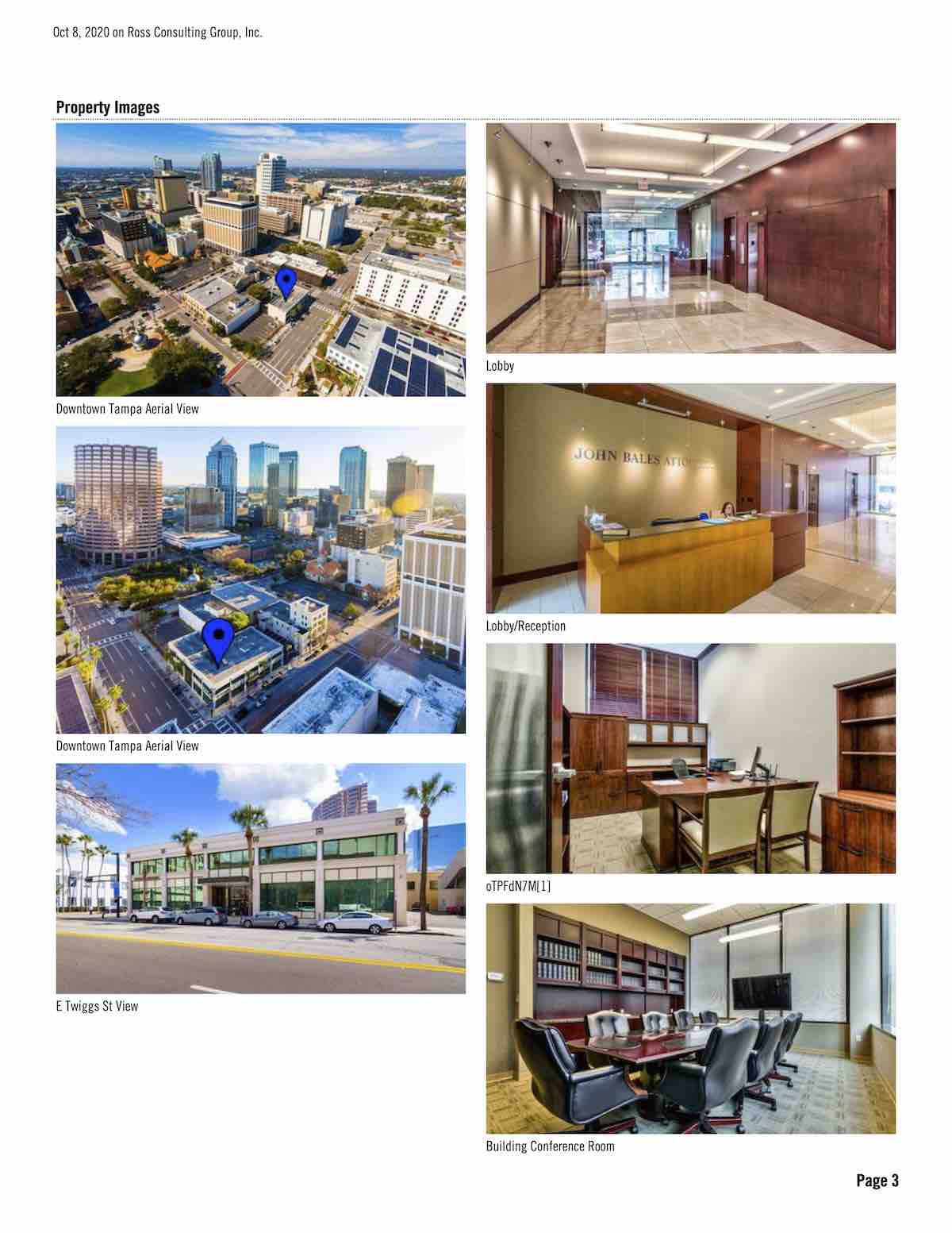Tampa Commercial Real Estate - FOR LEASE - Courthouse Plaza - 625 E Twiggs St, Tampa, FL 33602 P3
