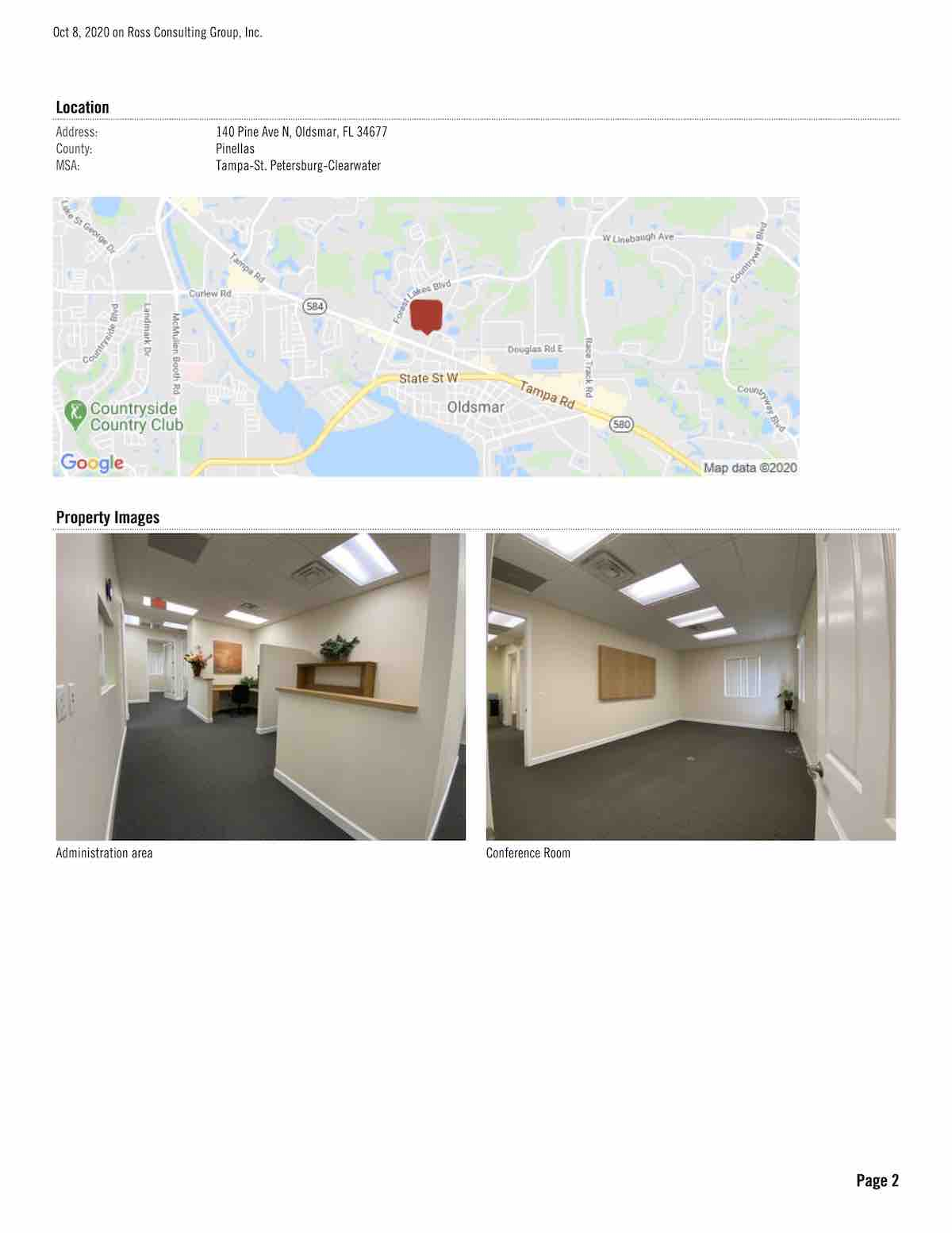 FOR LEASE - Cypress Lakes Professional Center - 140 Pine Ave N, Oldsmar, FL 34677 P2