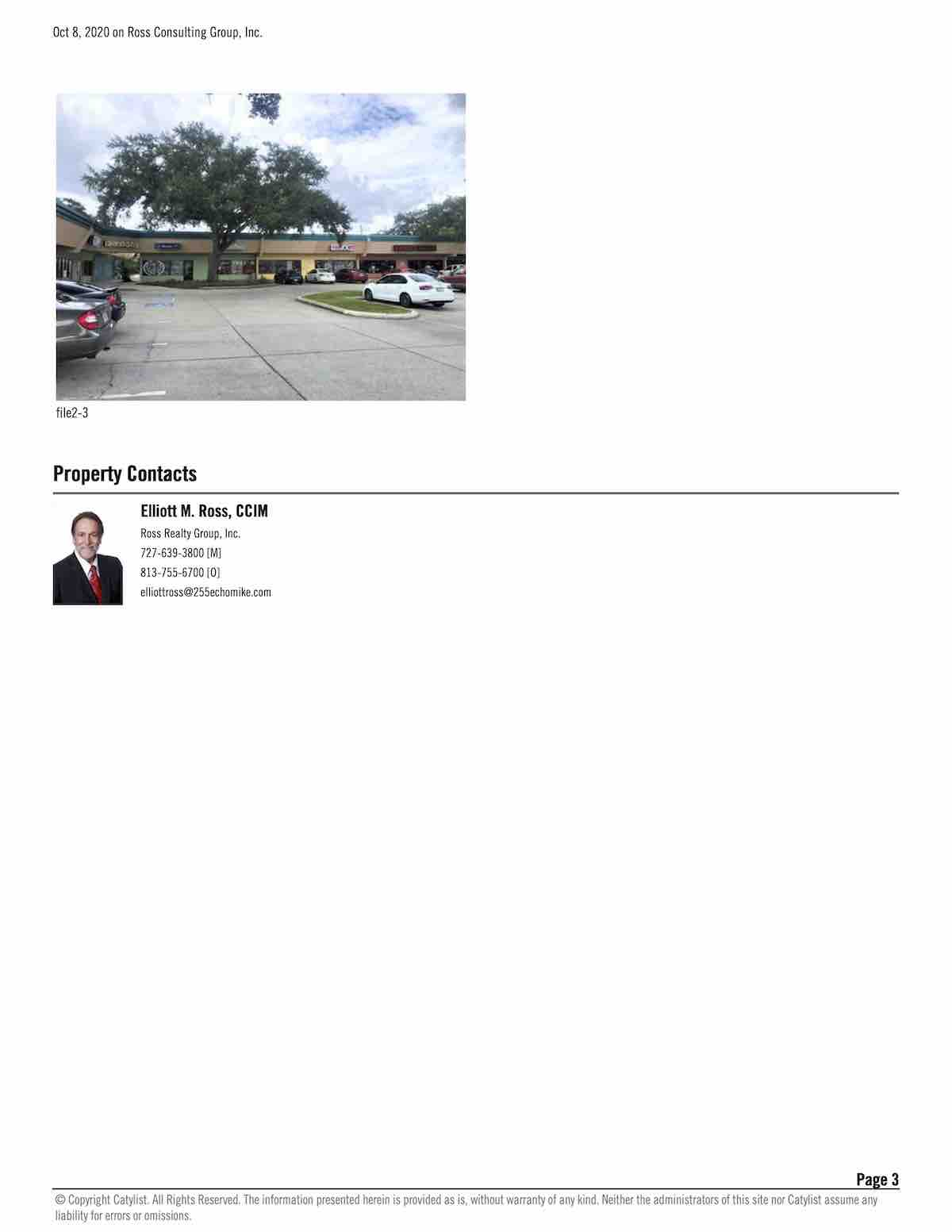Tampa Commercial Real Estate - FOR LEASE - Hampton Plaza - 2790 Gulf to Bay Blvd, Clearwater, FL 33759 P3