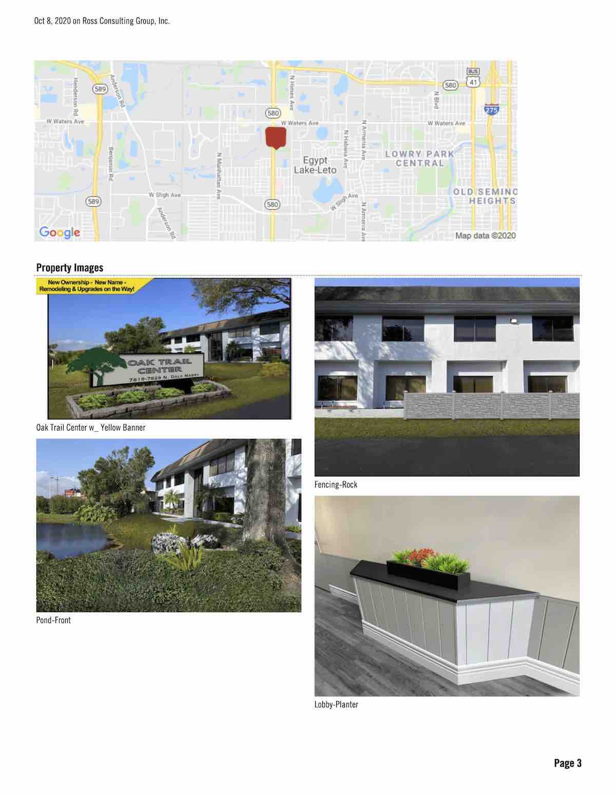 FOR LEASE - Oak Trail Center (Former Gulf South) - Oak Trail Center (Former Gulf South) - 7819-7829 N. Dale Mabry, Tampa, FL 33614 P3