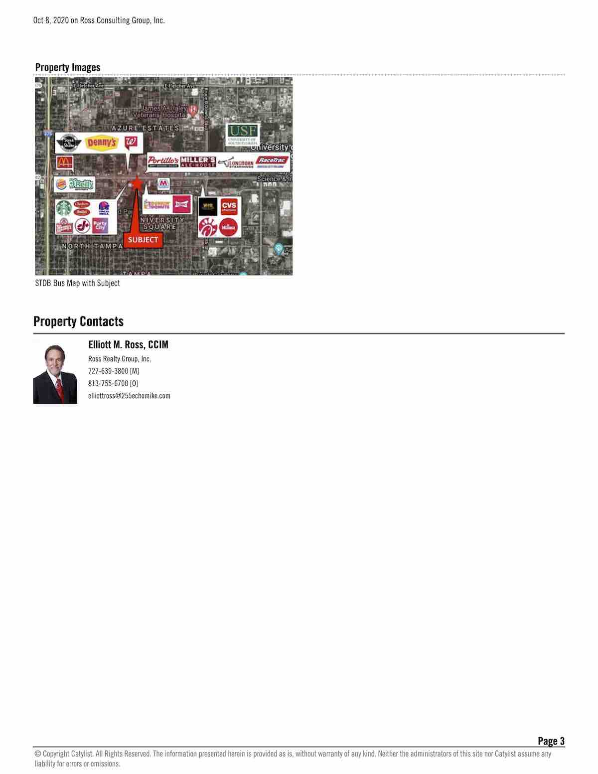 FOR LEASE - University Commercial Center - 1809 E Fowler Ave, Tampa, FL 33612 P3