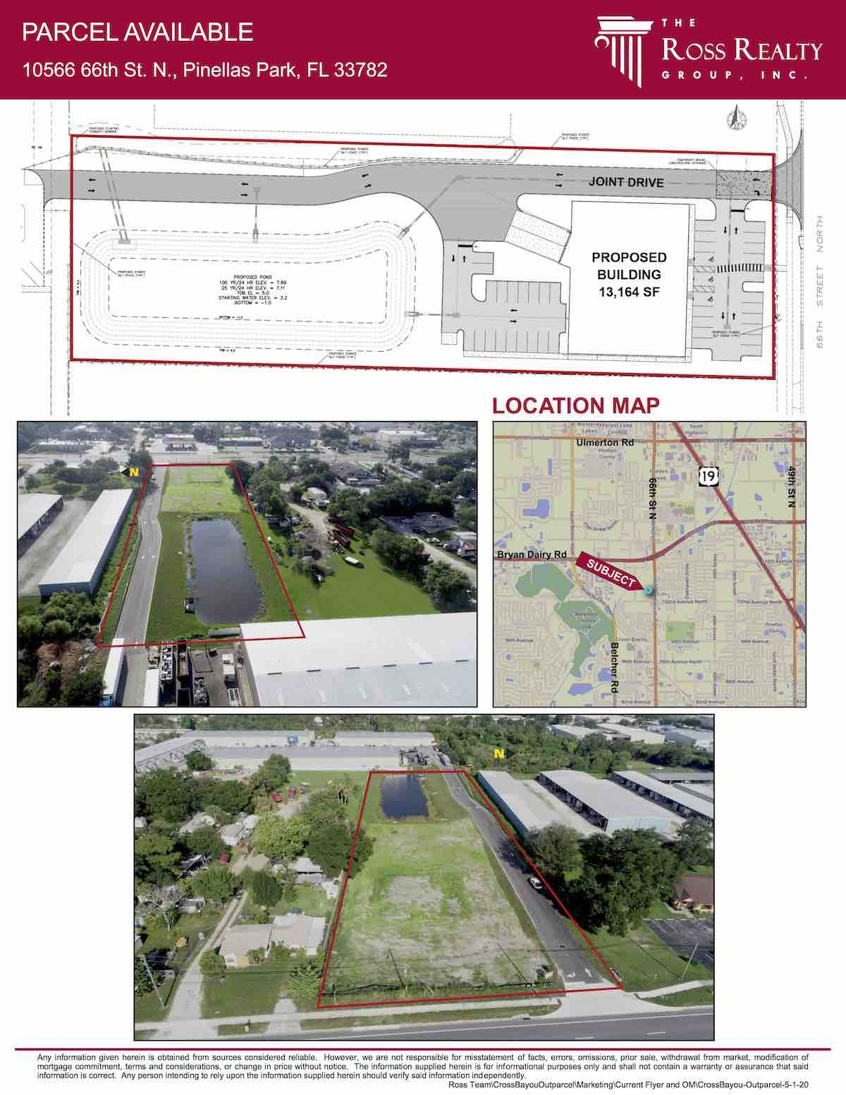 FOR SALE - Cross Bayou Industrial Park – Outparcel - 66th Street Land - 10566 66th St. N., Pinellas Park, FL 33782 P2