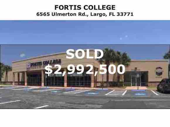 Tampa Commercial Real Estate - Fortis College 6565 Ulmerton Rd., Largo, FL 33771
