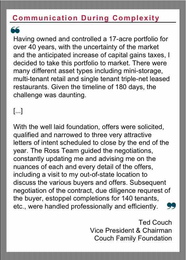 Tampa Commercial Real Estate - R2-testimonial-Ted_Couch