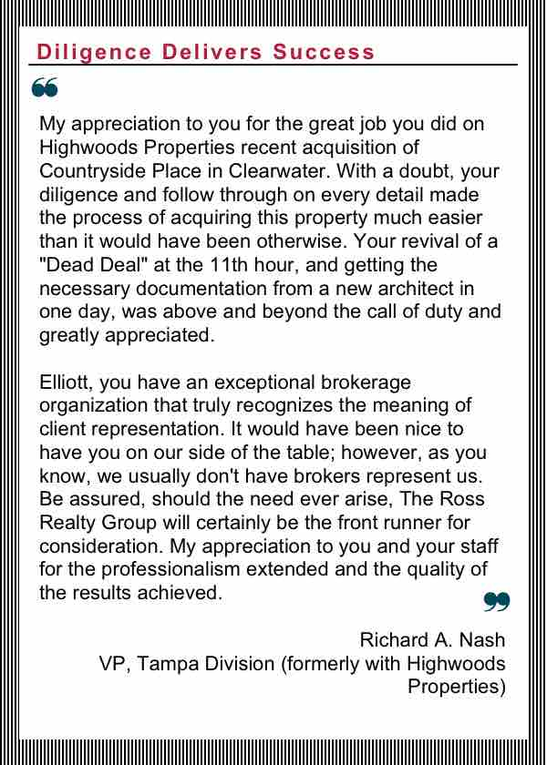 Tampa Commercial Real Estate - R3-testimonial-Richard_Nash